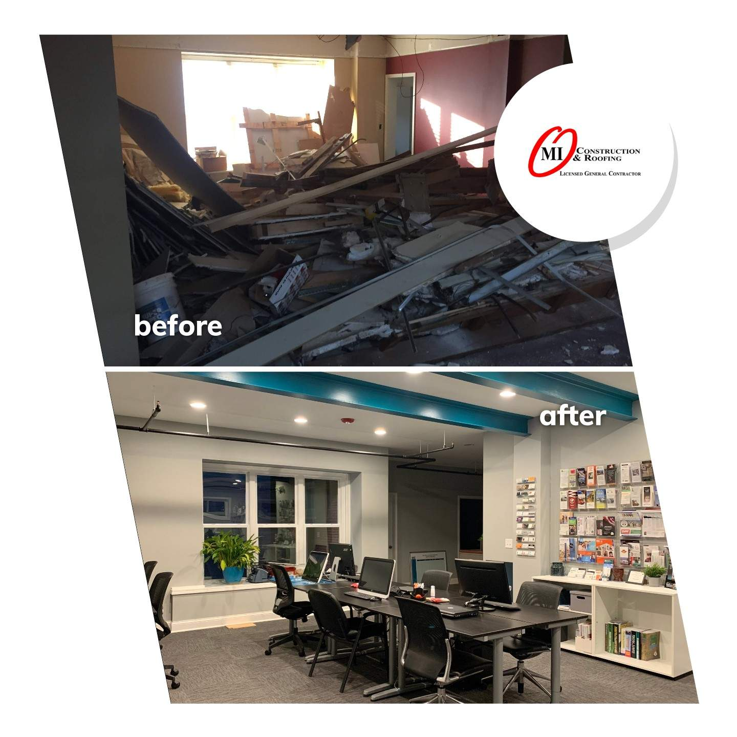 Before-After Work Space